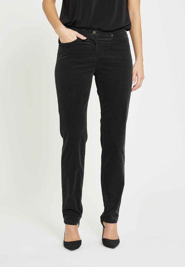 CHARLOTTE - Trousers - black