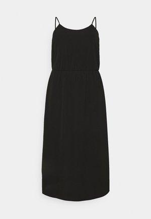 CARLUXINA DRESS SOLID - Day dress - black