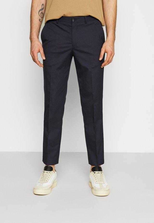 SLHSLIM MYLOLOGAN CROP - Chino kalhoty - navy blazer