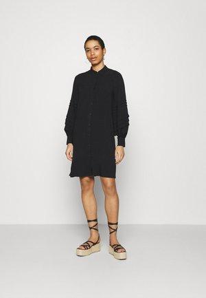 MARYANN - Shirt dress - black