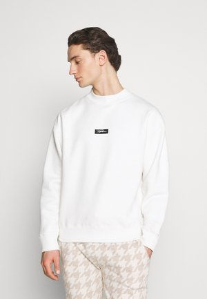 HIGHNECK BADGE - Sweatshirt - ecru
