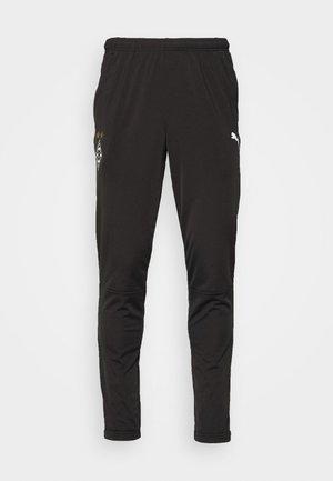 BORUSSIA MÖNCHENGLADBACH TRAINING PANTS CORE ZIP POCKETS - Club wear - black/white
