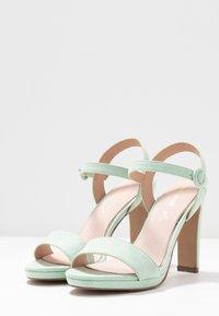 Mariamare - Sandály na vysokém podpatku - mint - 4