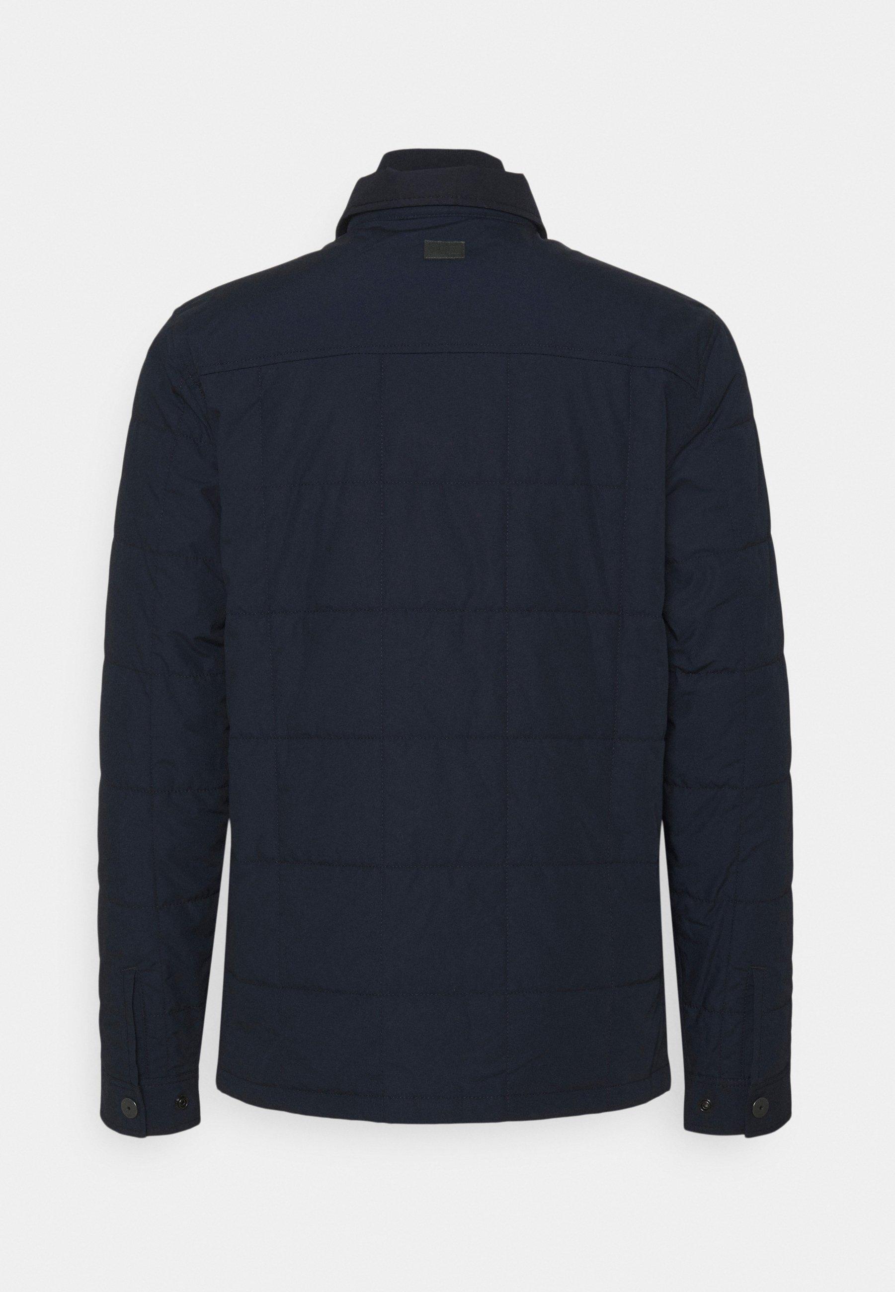 Men QUILTED OVERSHIRT - Light jacket