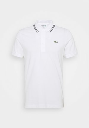 DETAILED COLLAR - Poloshirts - white/black