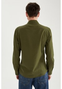 DeFacto - Formal shirt - khaki - 2