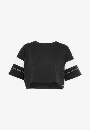 SOLID TEE - Printtipaita - black