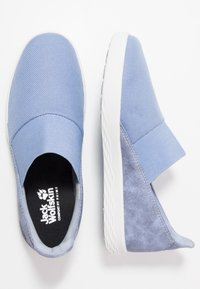 Jack Wolfskin - AUCKLAND - Trainers - light blue/white - 1