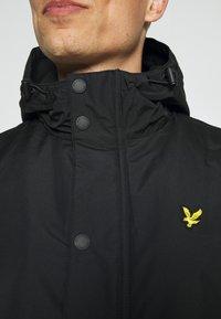 Lyle & Scott - TECHNICAL - Winter coat - jet black - 6