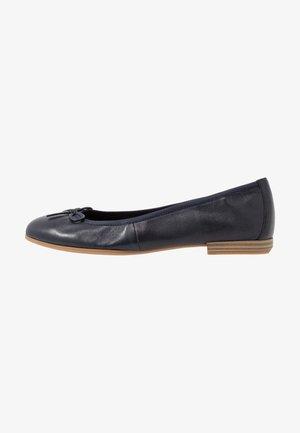 Ballet pumps - navy