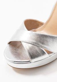 Anna Field - Sandaler med høye hæler - silver - 2
