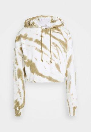 CROPPED & COOL HOODIE - Sweatshirt - putty