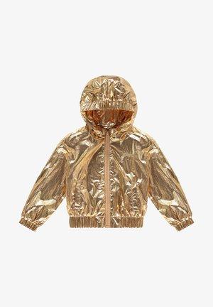 Outdoorjas - gold metallic