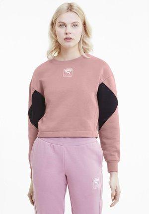 Sweatshirt - foxglove