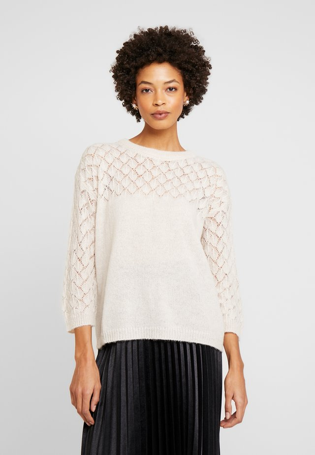 ADORA  - Strickpullover - whitecap grey