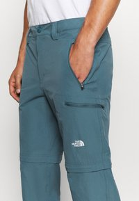 The North Face - EXPLORATION CONVERTIBLE PANT - Outdoor trousers - mallard blue - 3