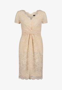 Vera Mont - FIGURBETONT - Shift dress - tapioca - 2