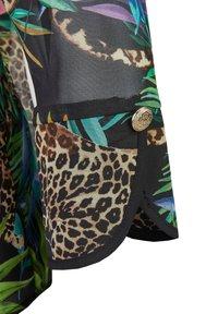 Nicowa - GIUNGLIO - Button-down blouse - schwarz - 3