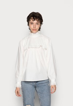 NUCLEMATIS BLOUSE - Blus - bright white