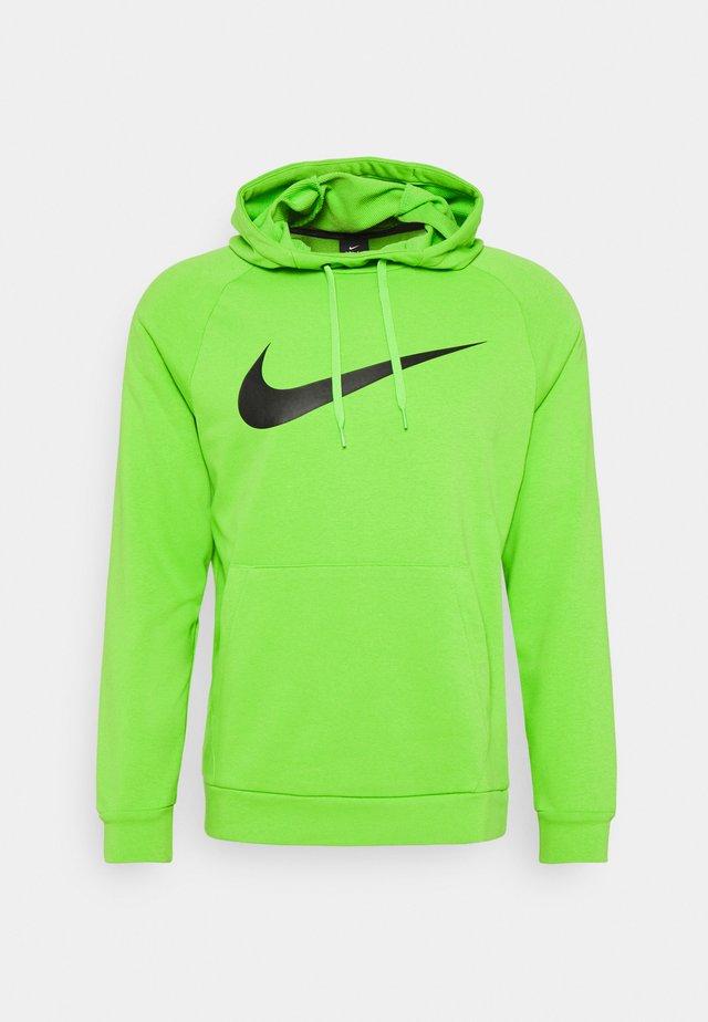 Sweat à capuche - mean green/black