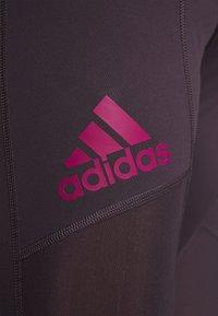 adidas Performance - ASK LONG  - Leggings - noble purple - 3
