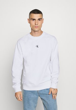 PUFF CREW NECK - Sweatshirt - bright white