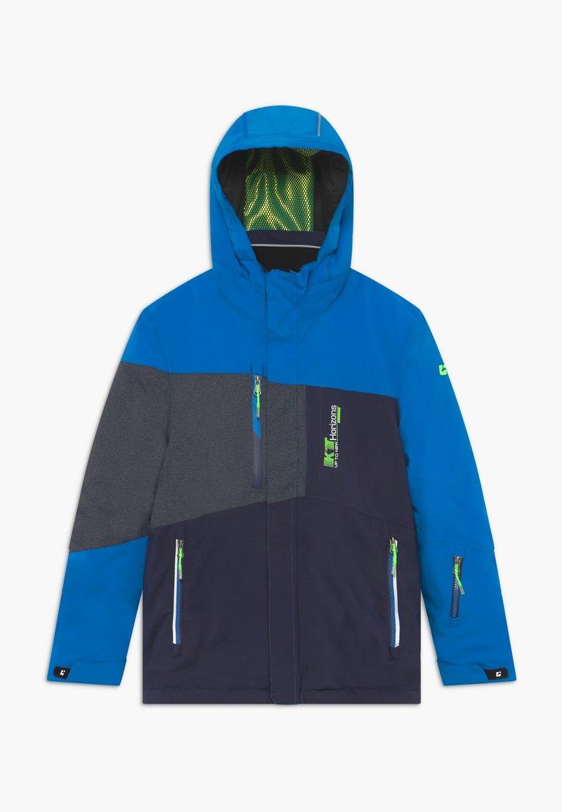 Killtec - GLENSHEE BYS - Snowboardová bunda - neon blue