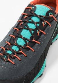 La Sportiva - TX4 WOMAN - Hiking shoes - carbon/aqua - 5