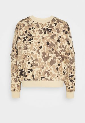 POCKET SWEATSHIRT - Sweater - bleached sand