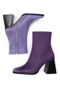 ALOHAS - Korte laarzen - lilac - 1
