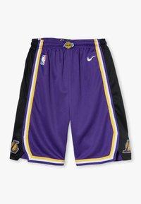 Nike Performance - NBA LOS ANGELES LAKERS STATEMENT SWINGMAN  - Sportovní kraťasy - court purple - 0
