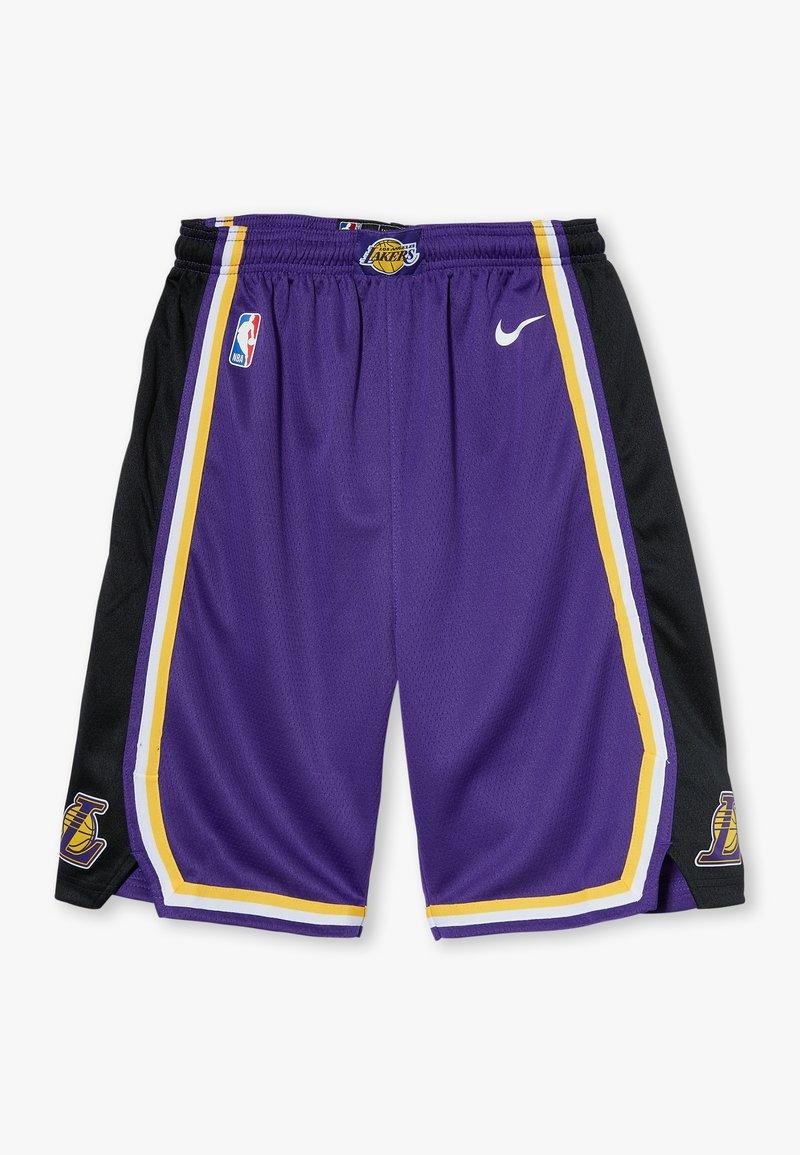 Nike Performance - NBA LOS ANGELES LAKERS STATEMENT SWINGMAN  - Sportovní kraťasy - court purple