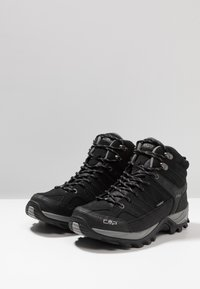 CMP - RIGEL MID TREKKING SHOES WP - Hiking shoes - nero/grey - 2