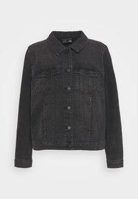 Vero Moda Curve - VMFAITH JACKET - Denim jacket - black - 0