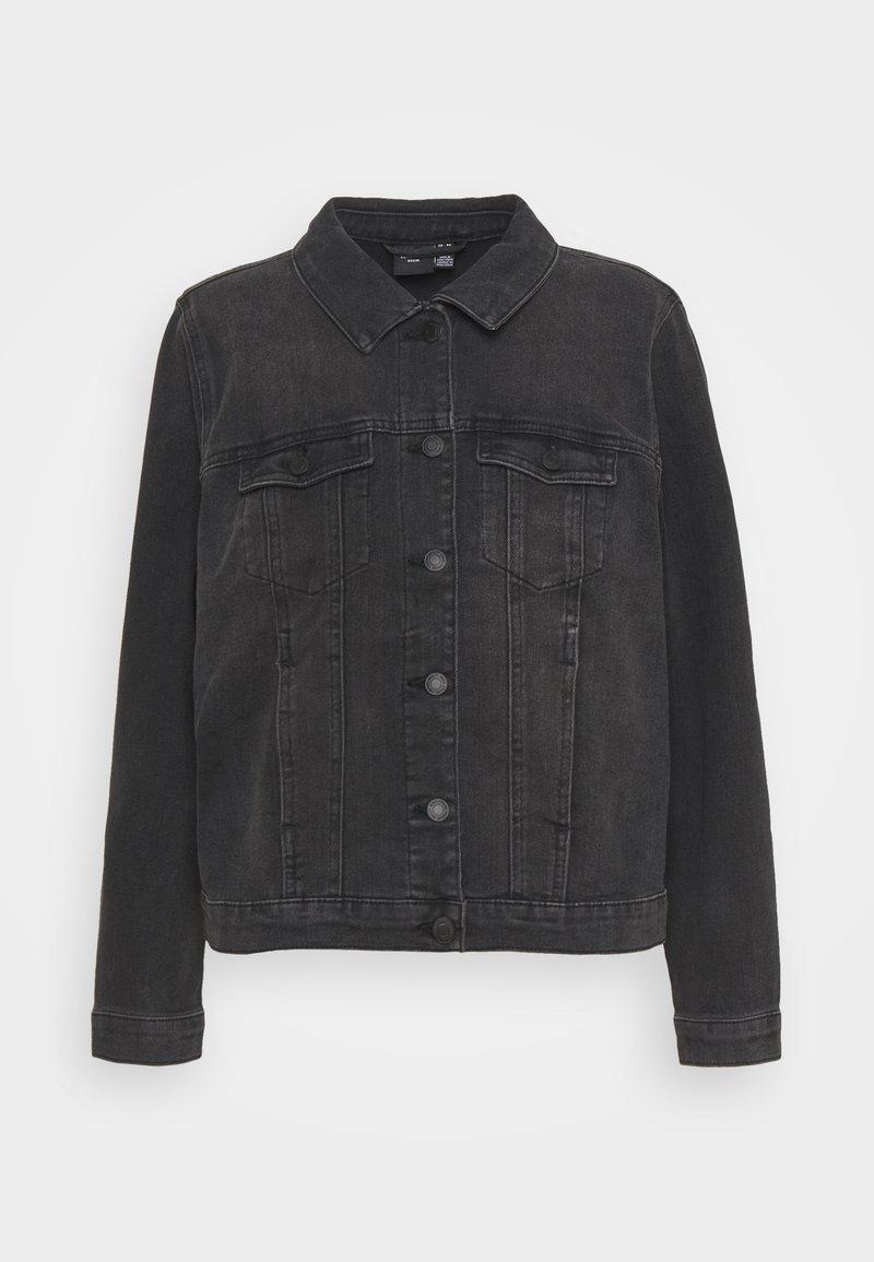 Vero Moda Curve - VMFAITH JACKET - Denim jacket - black