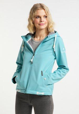Soft shell jacket - rauchaqua