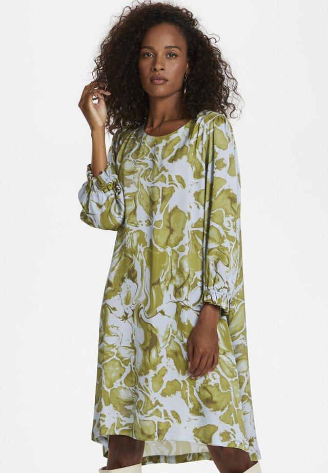 Korte jurk - green glaze