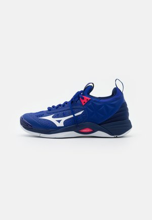 WAVE MOMENTUM - Chaussures de volley - reflex blue/white/diva pink