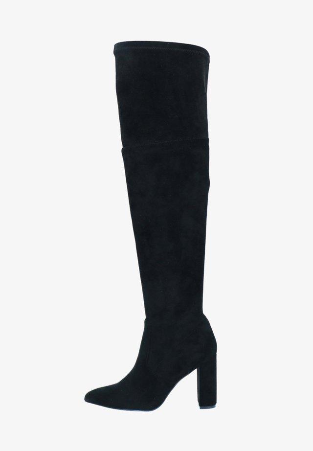 MIT ABSATZ - High heeled boots - schwarz