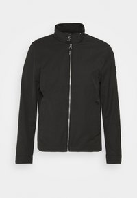 ICONIC HARRINGTON JACKET - Summer jacket - black