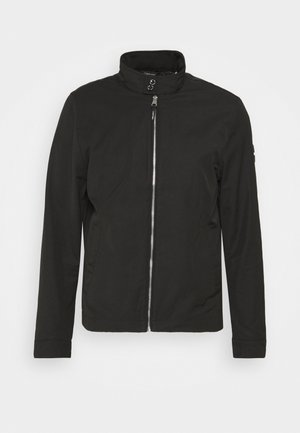 ICONIC HARRINGTON JACKET - Summer jacket - black