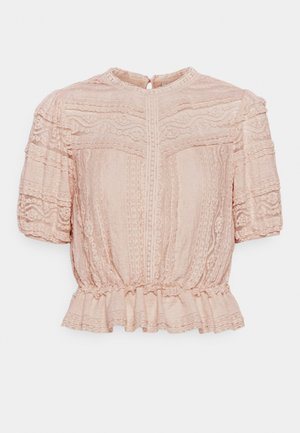AMY PEPLUM BLOUSE - T-shirt print - blush