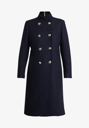 BELLE BLEND MAXI FUNNEL - Classic coat - blue