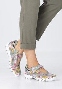 Allrounder - Ankle strap ballet pumps - multicol/lt militaire - 0