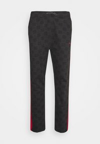 Nominal - CHECK TROUSER - Trousers - black - 4