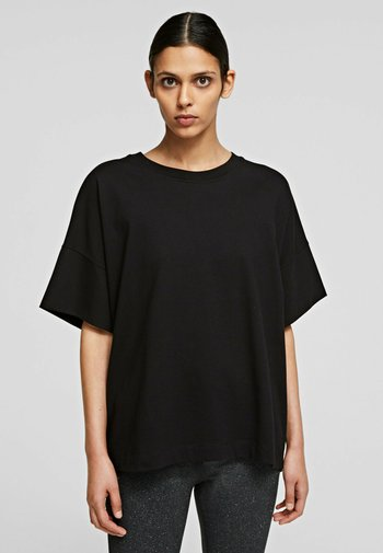 RELAXED FIT  - Basic T-shirt - black