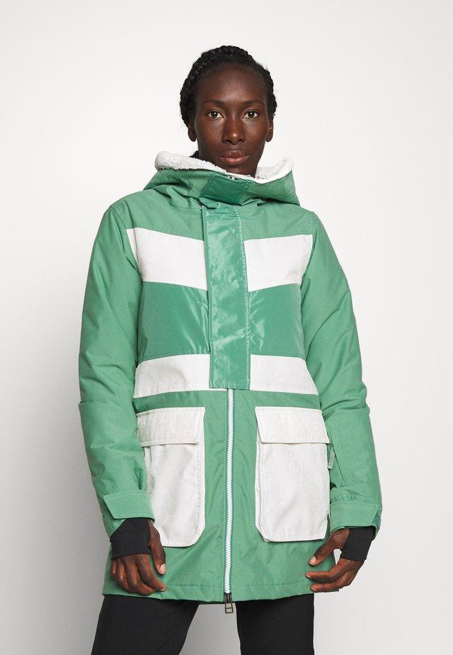 LAROSA - Snowboardová bunda - green
