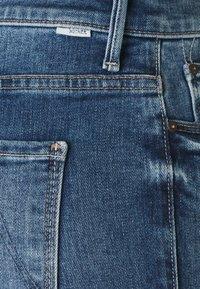 Mother - THE STUNNER ANKLE FRAY - Skinny džíny - blue denim - 2