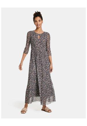 MESH - Maxi dress - ebony gemustert