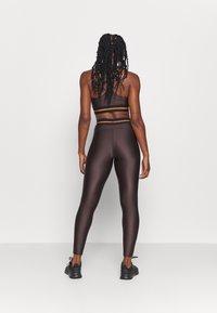 Casall - DEEP HIGH WAIST 7/8 - Leggings - powerful brown - 2
